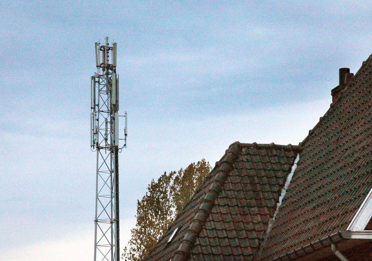 Een archiefbeeld van een gsm-mast
