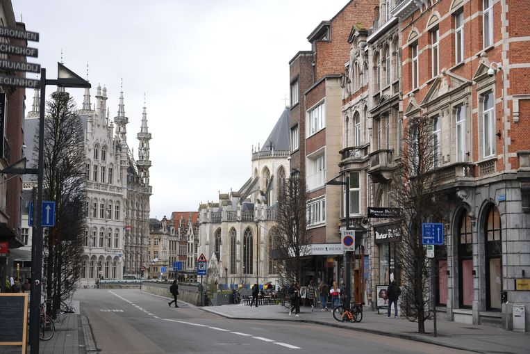 De Bondgenotenlaan in Leuven moet in de toekomst een aangename winkelstraat worden door tal van ingrepen die Liefst Leuven voorstelt aan het stadsbestuur.