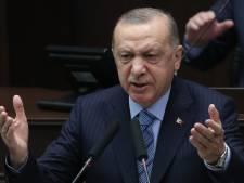 """Erdogan s'en prend au mouvement LGBT en l'accusant de """"vandalisme"""""""