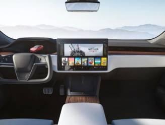Tesla toont nieuw interieur Model S en X met aangepast stuurwiel zonder hendels