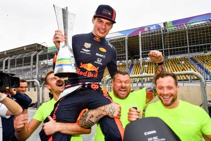 Max Verstappen won vorig jaar nog de GP van Brazilië.