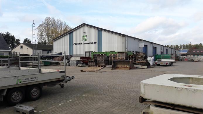 Loods van Postma op het Bergharense bedrijventerrein Breekwagen.