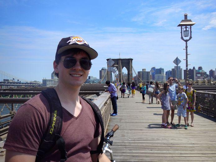 Christoph trok al drie keer naar New York, drie keer voor minder dan 200 euro.