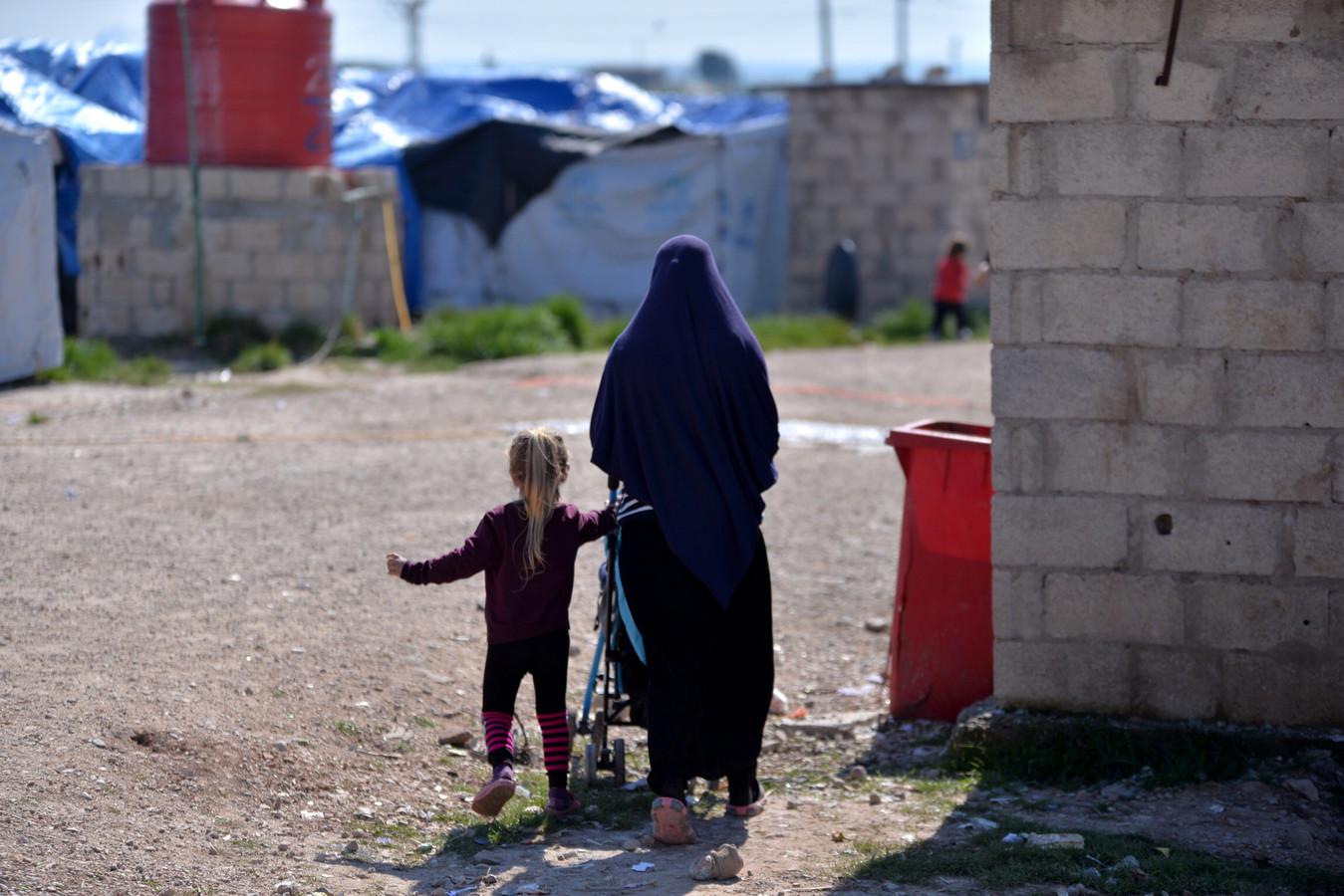 Le camp de Roj, en Syrie (archives)