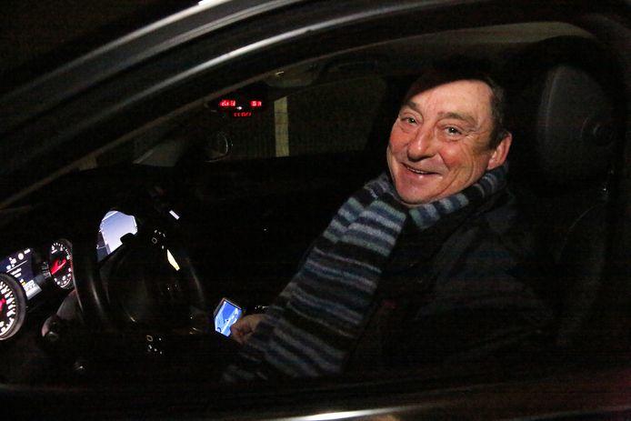 Taxichauffeur Michel Vandervoort was een van de actievoerders.