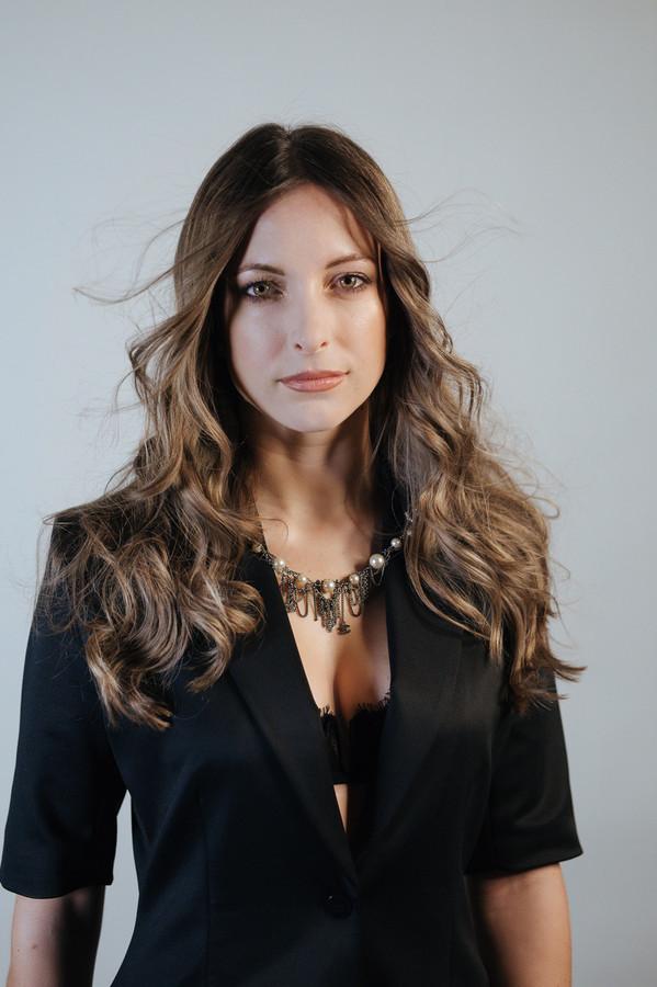 L'une des réalisations d'Hélène Karaman, élue meilleure coiffeuse de Belgique et du Luxembourg.