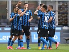 Sans Lukaku, l'Inter Milan fête le titre en corrigeant la Sampdoria