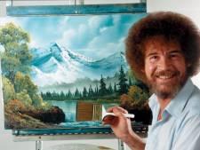 'Let's have some fun': Eerste Bob Ross expo ter wereld gaat bijna open bij Museum More Gorssel