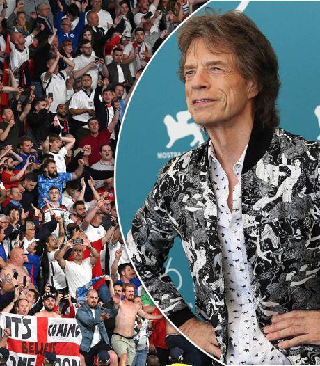 Mick Jagger en voetbal: na zege Engeland is de vloek eindelijk voorbij