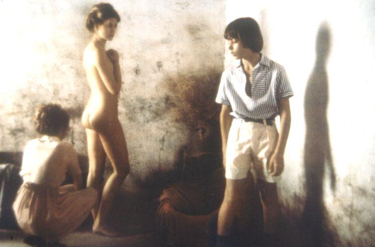 Scène uit Tendres cousines uit 1980, een film van David Hamilton.  Beeld BELGAIMAGE
