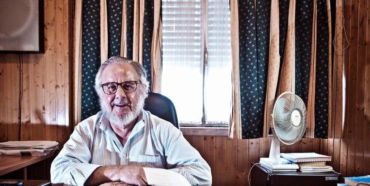 Dokter Nuno Miguel, psychiater en een van de grootste drugsspecialisten van Portugal. Beeld Jonas Lampens