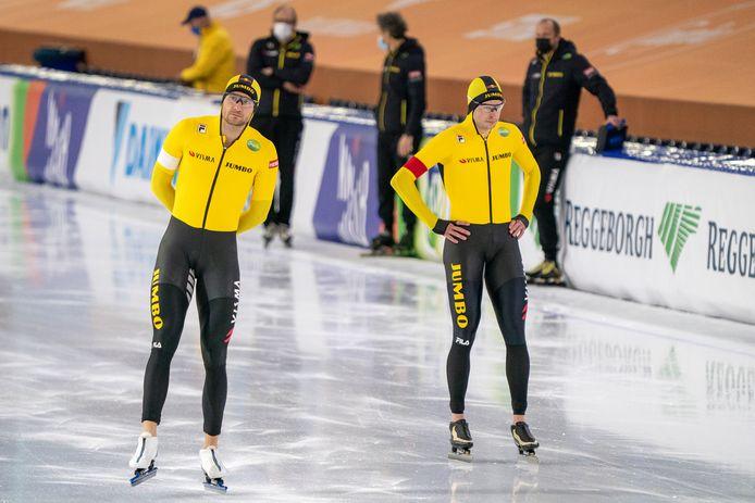 Thomas Krol en Sven Kramer.
