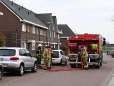 Brandje in schuur bij woning in Wierden snel onder controle