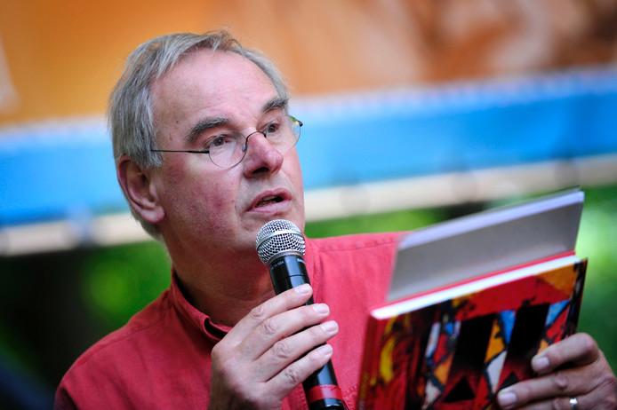 Rob Lokin, tijdens een editie van het Afrikafestival in Hertme