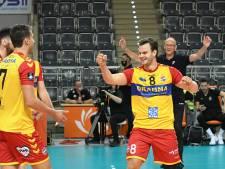 Volleyballer Freek de Weijer van Dynamo weet dat zijn toekomst in Athene ligt