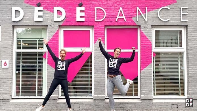 Ingrid Slegers en Miriam van Gils zetten vrouwensportschool in Veldhoven voort bij DéDé Dance.
