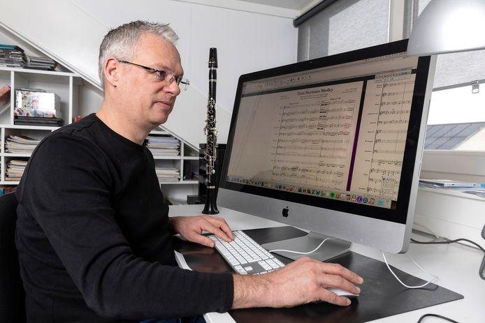 Componist/musicus Roger Niese van Philharmonie Zuidnederland.