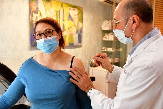 Vaccineren.