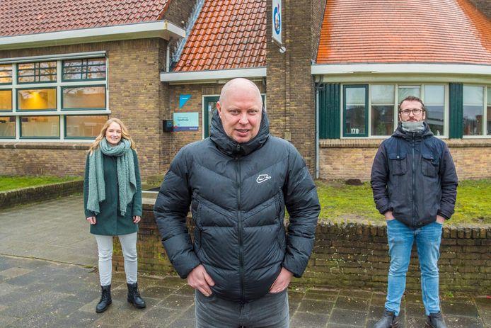 Bianca Kleine Snuverink, John Bont en Jules Napis.