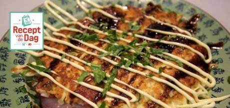 Recept van de dag: Okonomiyaki (Japanse pizza, Japanse pannenkoek)