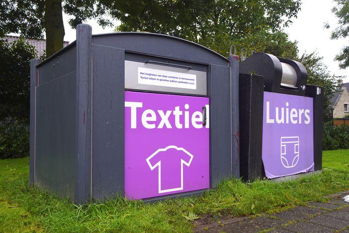 In Bunschoten worden de containers leeggehaald door de kringloopwinkels van Baarn, Bunschoten en Nijkerk.