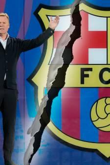 Ontslagen Ronald Koeman kost Barcelona als passant zonder succes zo'n 13 miljoen euro extra