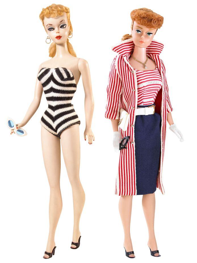 De eerste Barbie uit 1959