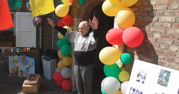 Je zou het hem niet geven maar Jozef wordt 95