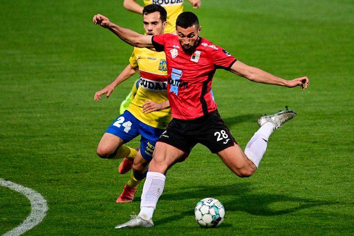 Mehdi Terki zorgde halfweg de eerste helft voor de 0-1. Zijn eerste doelpunt van het seizoen voor RWDM.