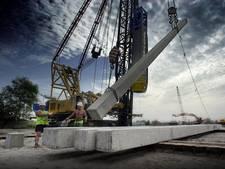Vertraging bouwprojecten door tekort aan heipalen