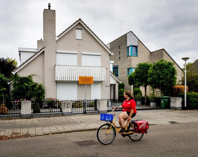 Het huis van Danny M. in Nijmegen