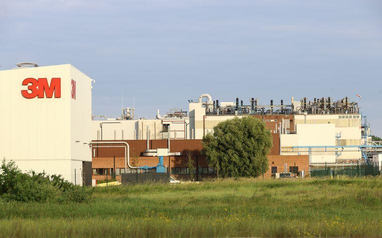 De 3M-fabriek in Antwerpen. Beeld BELGA