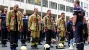 """Brandweermannen blokkeren Ring tijdens betoging over loon: """"Onderhandelingen draaien in rondjes"""""""