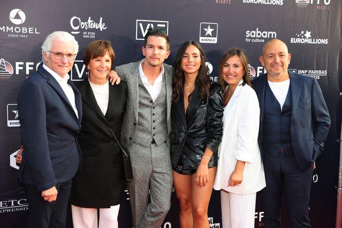 Zowel de ouders van Matteo als die van Loredana waren aanwezig.