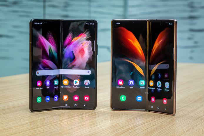 Samsung Galaxy Z Fold 3.