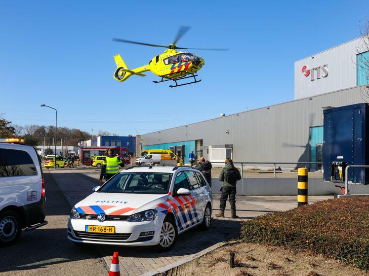 Medewerker van verpakkingsbedrijf in Apeldoorn ernstig gewond