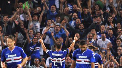 Invaller Mertens en Napoli zwaar onderuit bij Sampdoria, Quagliarella doet monden openvallen met fantastische goal