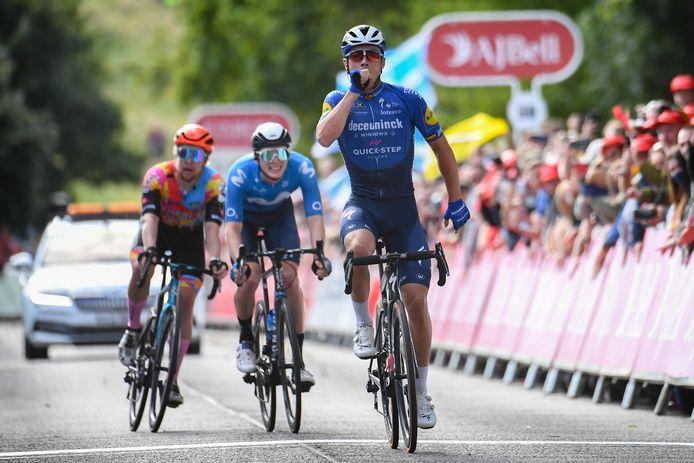 Deuxième victoire de la saison pour Yves Lampaert.