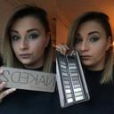 Fabiënne (22) is make-up en haarstyliste en weet haar extra kilo's daarmee te verbergen.