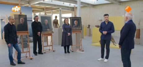 Gelderse Simone en Erik emotioneren tv-kijkend Nederland met schilderijen van Frits Spits