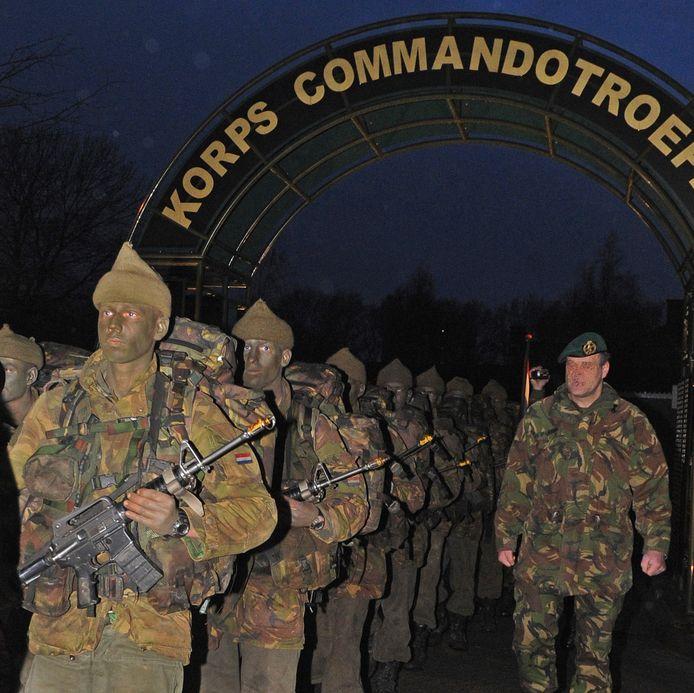 Commando's in Roosendaal.