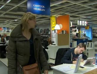 Gentse studenten blokken in Ikea