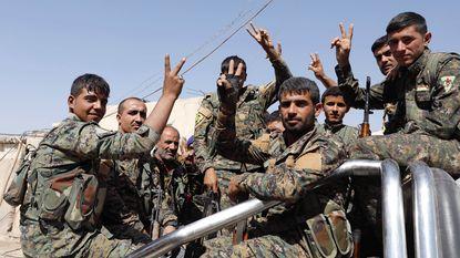 """Strijd in Raqqa """"gaat laatste fase in"""""""
