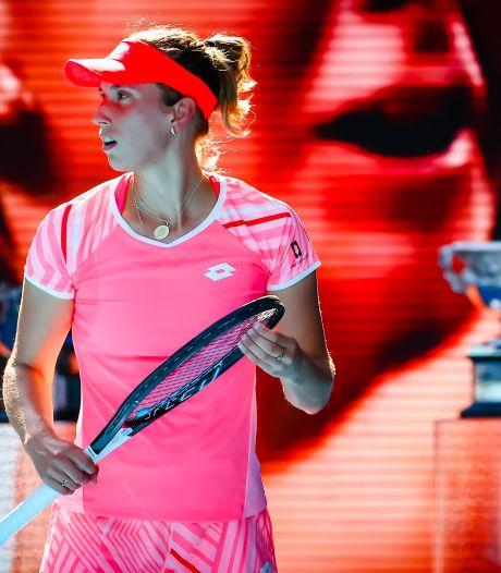 Elise Mertens se retire du tournoi d'Adélaïde