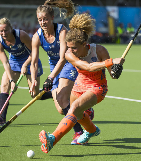 Hockeysters verslaan Schotland bij Hockey World League