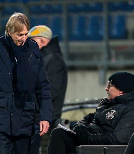 Dolend Willem II zet trainer Adrie Koster op straat