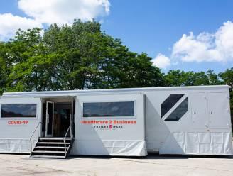 Primeur voor cyclocross Oostmalle: mobiele trailer voor snelle coronatests op events in gebruik genomen