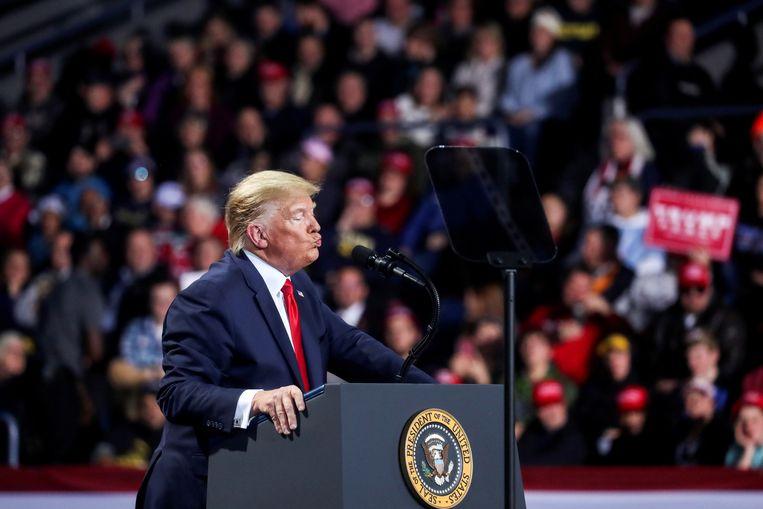 De kans dat er in de Senaat een meerderheid gevonden wordt om Trump effectief af te zetten, is bijzonder klein. Beeld REUTERS