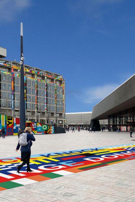 Kleurrijke metamorfose voor Rotterdam: zo komt de stad er uit te zien tijdens het Songfestival!