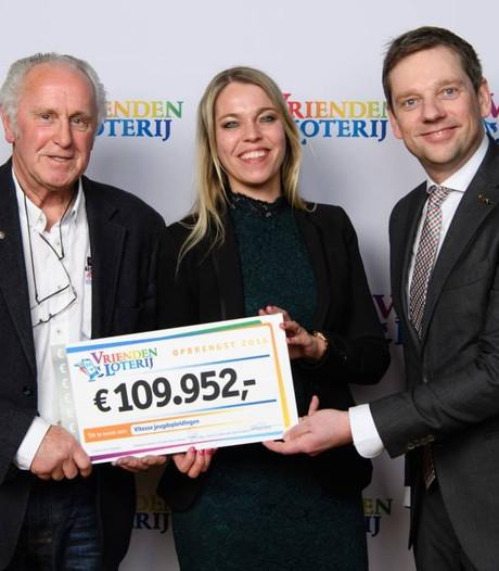 Jeugdopleiding Vitesse ontvangt 110.000 euro via Vriendenloterij
